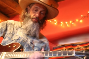 Bill Mallonee @ Studio El Corazon, New Mexico Fall 2016